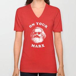 On Your Marx Unisex V-Neck