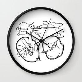 10-Speed Wall Clock