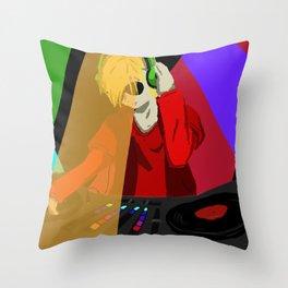 Dave the DJ Throw Pillow