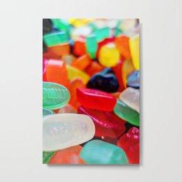 Sweets 01   Wine Gums Metal Print