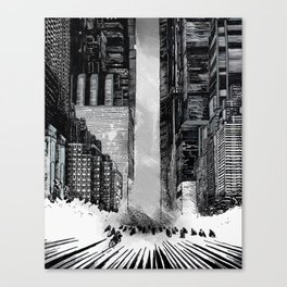 Homage to Akira Canvas Print