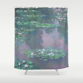 Water Lilies Monet 1905 Shower Curtain