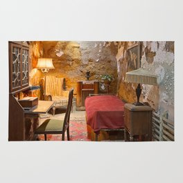 Al Capone's Luxurious Prison Cell Rug