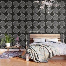 Growth Rings – 65 Years – Black Wallpaper