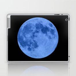 MOON GLOW BLUE Laptop & iPad Skin