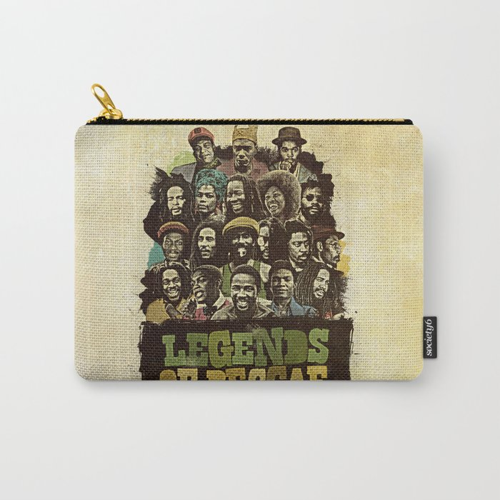 Legends of Reggae Poster Carry-All Pouch