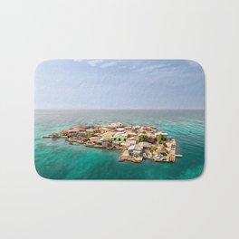 Caribbean Island Bath Mat