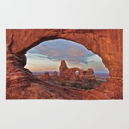 Arches National Park - Turret Arch Rug