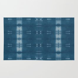 Adire mud cloth Rug