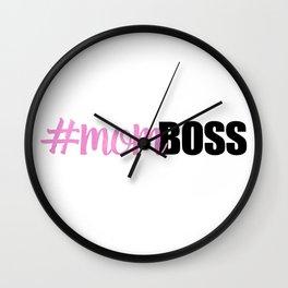 #momboss   Mom Boss Wall Clock