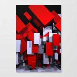 boxes - portrait format Canvas Print