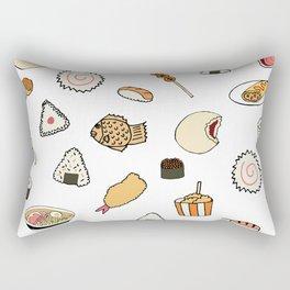 Popular Japanese Food Rectangular Pillow