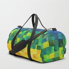 Chakra Rainbow Tiles Duffle Bag