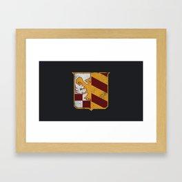 Florentine Eagle - Crest Framed Art Print