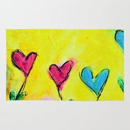 Amor de colores Rug