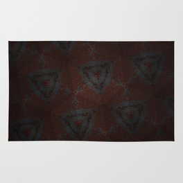 Shadow Triangles Rug