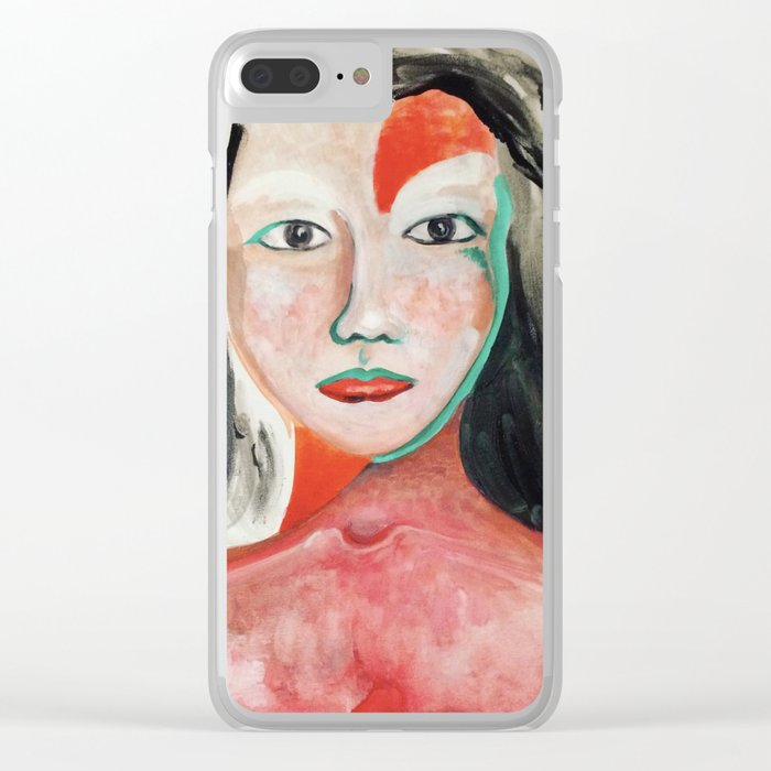 We are all Native, Standing for our Water Rights Clear iPhone Case