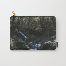 Chase the Waterfalls cataract falls California Bay Area Photograph Carry-All Pouch