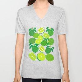 Lime Harvest Unisex V-Neck