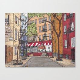 New York Stroll Canvas Print