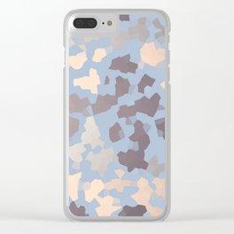 SAFARI GRAY Clear iPhone Case