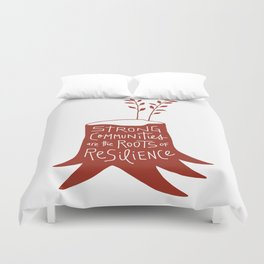 Roots of Resilience Duvet Cover