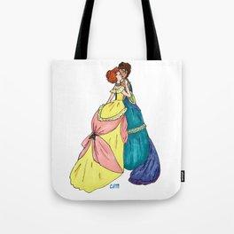 Sapphic Victoriana Tote Bag