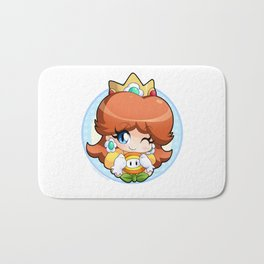 Princess Daisy Bath Mat