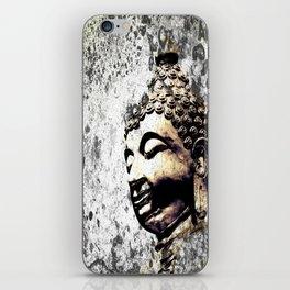 Grunge Buddha iPhone Skin