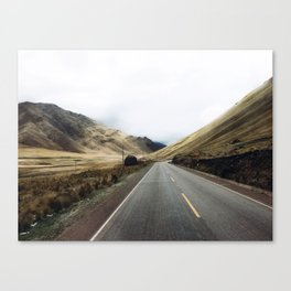 Peruvian adventures. Canvas Print