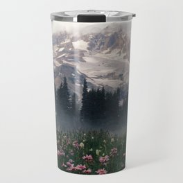 Mt Rainier Travel Mug