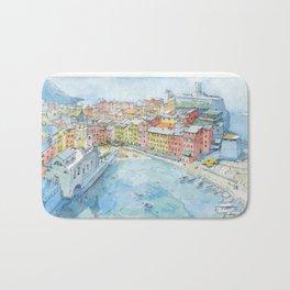 Vernazza, Cinque Terre, Italy Bath Mat