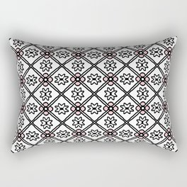 1357 pattern Rectangular Pillow