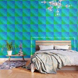 Pearl gradient watercolor drops Wallpaper