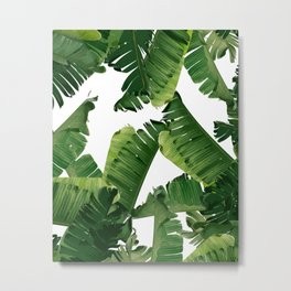 Banana Green Metal Print