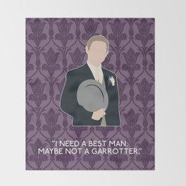 The Sign of Three - John Watson Throw Blanket