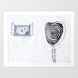 Different Dimension  Art Print