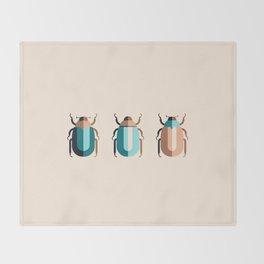 June Bugs Throw Blanket