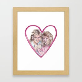 Charlene and Scott Framed Art Print