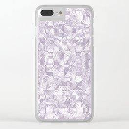 APATHY Clear iPhone Case