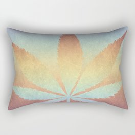 Somewhere over the rainbow, way up high Rectangular Pillow