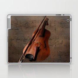 Painting Vintage Violin Laptop & iPad Skin