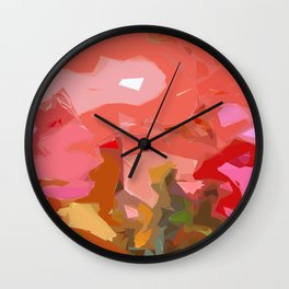 A Quaint Relapse  Wall Clock