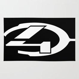 Halo 4 logo Rug