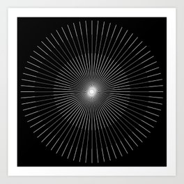 Holy Triangle  Art Print