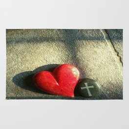 """""""Heart and Soul"""" Rug"""