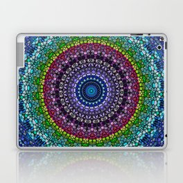 Magical Gems Kaleidoscope Laptop & iPad Skin