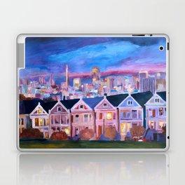 San Francisco - Painted Ladies - Alamo Sq Laptop & iPad Skin