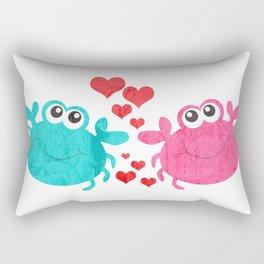 Love Crab Rectangular Pillow
