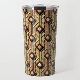 Metals Quatrefoil Travel Mug